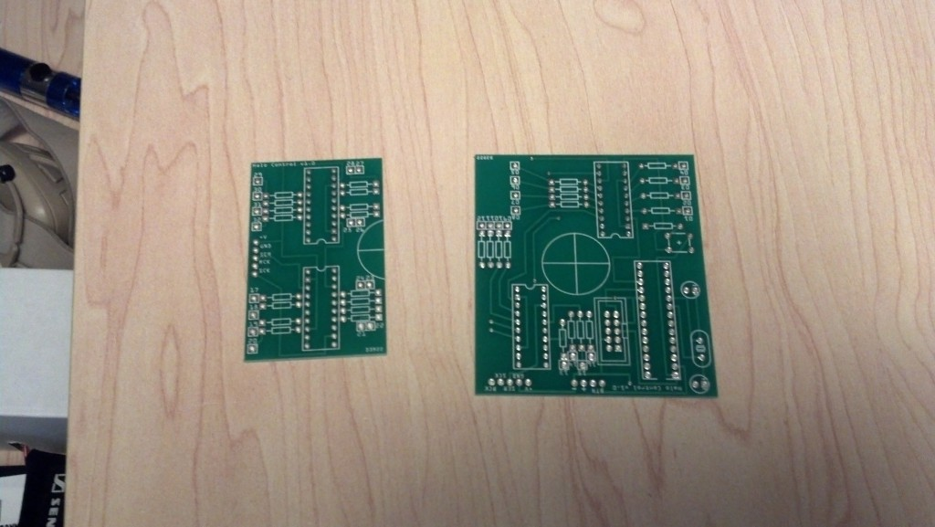 PCBs unpopulated