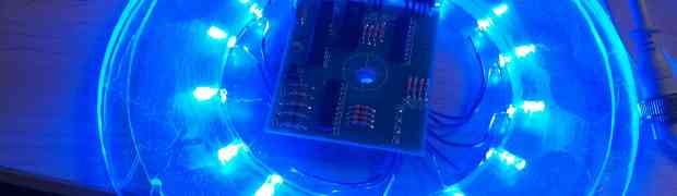 Air Filter Halo Animated with ATMega 328P